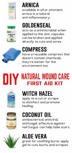 When a cut bruise scrape or other minor first aid injury arises try these produc. Home Health Care, Kids Health, Children Health, Wound Care, Nursing Programs, Nursing Jobs, Natural Health Remedies, Herbal Remedies, First Aid