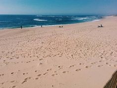Enough beach to go around in Portugal.