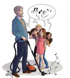 Illustration réalisée pour l'Orchestre de Paris - 2014