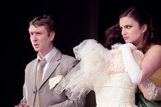 Na zdjęciu: Wojciech Rusin, Marta Sroka (fot. Natalia Giza)