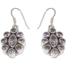 Handmade Jewelry Amethyst Earrings Silver Gifts for Mom 1.5 Inches ShalinIndia,http://www.amazon.com/dp/B002HQXIJ0/ref=cm_sw_r_pi_dp_96Sksb1YXBH36135