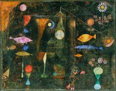 Paul Klee ~ Fish Magic, 1925