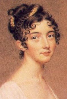 Emily's hairstyle--sans tiara--for the Garvey's Ball