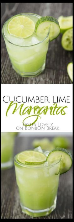 Why settle for a pre-made margarita mix when you can mix up delicious Cucumber Lime Margaritas in nothing flat. The recipe calls for Just three ingredients!