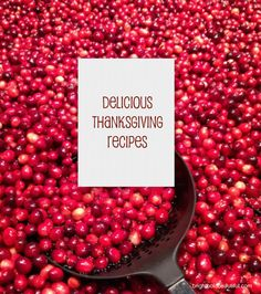 Delicious Thanksgiving Recipes brightboldbeautiful.com