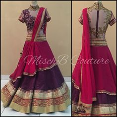 Very Berry, lehenga by MischBCouture