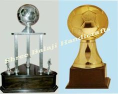 Pure white metal trophies | Pure silver trophies