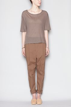 Sisii Dress Pants (Light Brown)
