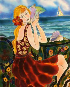 """Knowledge speaks, but wisdom listens"" ~Jimi Hendrix By The Sea ~ Yelena Sidorova"