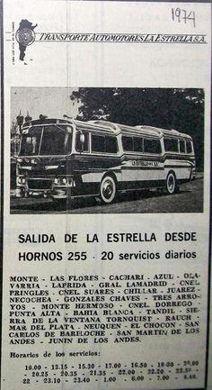 Transportes Automotores La Estrella 1974