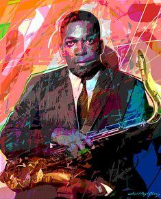 John Coltrane - jazz legend