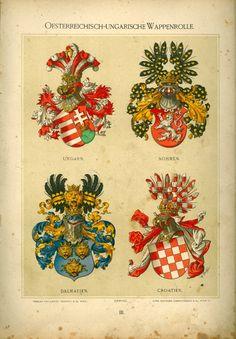 Wappenrolle Ströhl 1890 - Austria-Forum : Symbole