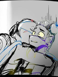 Ninja Turtles Art, Baby Turtles, Teenage Mutant Ninja Turtles, Tmnt Human, Cute Drawlings, Leonardo Tmnt, Tmnt Comics, Cartoon As Anime, Tmnt 2012