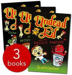 Undead Ed Collection - 3 Books - 9780750057202