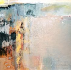 "Abstract Artists International: Contemporary Abstract Art Painting ""New Levels of Appreciation"" by Intuitive Artist Joan Fullerton"