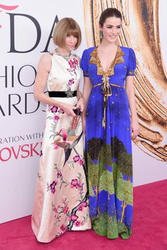 Anna Wintour and Bee Shaffer - Best Dressed at the 2016 CFDA Fashion Awards - Photos