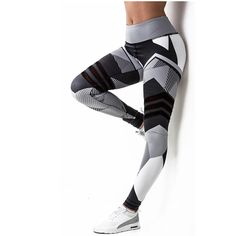0492eac19a8 2018 Sale Women Leggings High Elastic Leggings Printing Women Fitness  Legging Push Up Pants Clothing Sporting Leggins