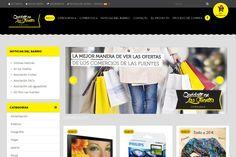 Diseño web para Quedate en las Fuentes. #zesis #marketing #diseñoweb #zaragoza