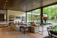 Estudio Valdés » El Rebaño Villa Design, Modern House Design, Casa Patio, Open Living Area, Furniture Styles, Contemporary Furniture, Exterior Design, Luxury Homes, Architecture Design