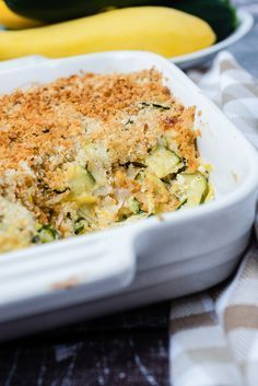 Zucchini and Squash Casserole A recipe for all the summer squash and zuchinni in your garden!A recipe for all the summer squash and zuchinni in your garden! Zucchini Squash Casserole, Yellow Squash Casserole, Baked Squash, Vegetable Casserole, Zuchinni And Squash Recipes, Zuchinni Bake, Squash Cassarole, Cheesy Zucchini Bake, Summer Squash Casserole