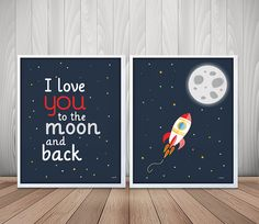 laminas infantiles, lamina espacio, lamina cohete espacial, lamina luna, cuadros infantiles, cuadro espacio, laminas A4, laminas imprimibles