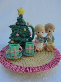 Precious Moments Christmas Mini Tea Set