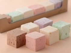 assorted pastel marshmallows Fiorentina Pastry Boutique
