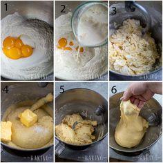 Sweet Bread Recipe (Basic Sweet Yeast Dough) - Let the Baking Begin! Sweet Yeast Dough Recipe, Best Biscuit Recipe, Bread Dough Recipe, Best Bread Recipe, Bread Recipes, Cake Recipes, Enriched Dough Recipe, Portuguese Sweet Bread, Bread Baking