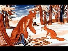 Ion Creanga - Ursul pacalit de vulpe - YouTube Ursula, Youtube, Moose Art, Painting, Animals, Literatura, Animais, Animales, Animaux