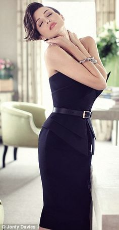 'A well-chosen LBD, like this one by Martin Grant, will last for seasons' REPINNED BY BELLA DONNA
