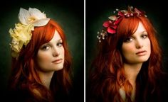 Beautiful floral crowns from ban.do's Black Label