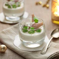 Hapje van gerookte paling, badend in een mousse van mierikswortel | Lacroix