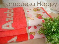 FRAMBUESA HAPPY: Toalla personalizada