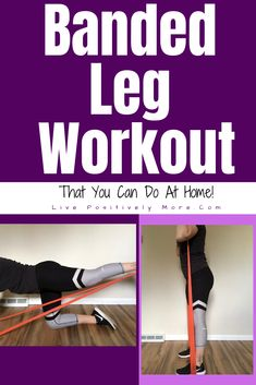 Banded Leg Workout That You Can Do At Home! loss workouts abs loss workouts at home loss workouts gym loss workouts leg loss workouts lose belly loss workouts women Loose Leg Fat, Lose Thigh Fat, Lose Belly Fat, Weight Loss Before, Weight Loss Tips, Lose Weight, Weight Lifting, Body Motivation, Weight Loss Motivation