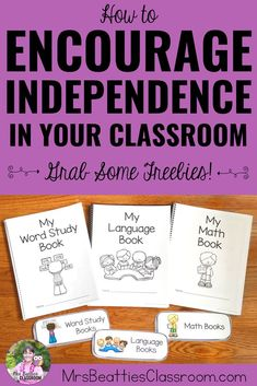 Help your students develop independence in the classroom with the ideas and resources in this blog post! Learn how to effectively set up your learning space and manage classroom routines so the children in your class can manage without your constant help and guidance. Exclusive FREEBIE included! #classroommanagement #independentwork #teaching #classroom