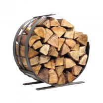 Selection of quality wicker and rattan log baskets and Fire wood holders for your fireplace or wood-burning stove. Great selection available - 01559 362847