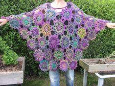 Heather Crochet Poncho by Emanation on Etsy, £70.00