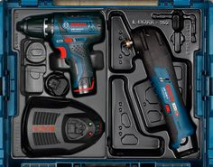 Bosch Starter Kit with L-Boxx Workshop Storage, Tool Storage, Bosch Tools, 2017 Ideas, Diy Tools, Free Samples, Starter Kit, Power Tools, Stove
