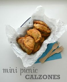 Recipe: Mini Picnic Calzones - The Veg Space