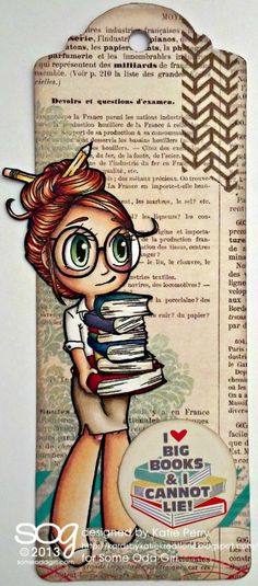 Library Mae (digi) from Kards by Katie Kreations