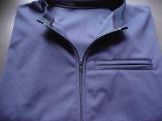 Light darkblue softshell jacket