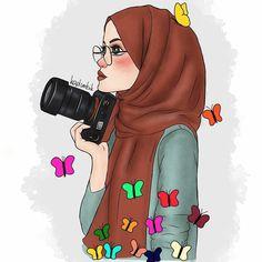 Illustrations and posters on share sunday 1 Hijabi Girl, Girl Hijab, Cartoon Sketches, Cartoon Art, Fashion Sketchbook, Fashion Sketches, Muslim Girls, Muslim Women, Clique Art