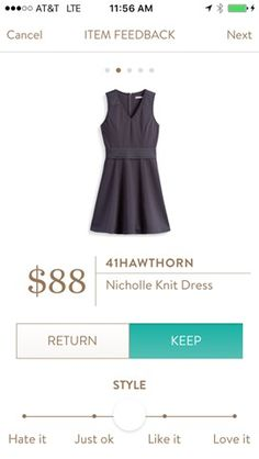 41Hawthorn Nicholle Knit Dress. I love Stitch Fix! A personalized styling service and it's amazing!! Simply fill out a style profile with sizing and preferences. Then your very own stylist selects 5 pieces to send to you to try out at home. Keep what you love and return what you don't. Only a $20 fee which is also applied to anything you keep. Plus, if you keep all 5 pieces you get 25% off! Free shipping both ways. Schedule your first fix using the link below! #stitchfix @stitchfix…