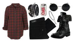 """""""Untitled #291"""" by thepolyvorecollection ❤ liked on Polyvore featuring Topshop, Levi's and Bakers"""