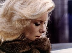 "catherinedeneuveisagoddess: ""Beautiful Goddess in Fur, just gorgeous. """