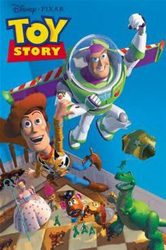 I love Buzz! He is so egotistic and clueless in the beginning, but becomes best buds with Woody in the end.