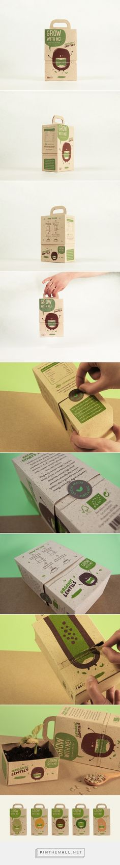 Grow With Me! / Ecopackaging project/ designed by Cristina Castells, Maria Fernanda Peña, Andrea Ribera