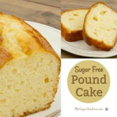 Check out this recipe for How to Make Sugar Free Pound Cake. If you are looking for a standard cake that everyone likes, Check out How to Make Sugar Free Pound Sugar Free Deserts, No Sugar Desserts, Sugar Free Sweets, Diabetic Desserts, Sugar Free Recipes, Low Carb Desserts, Dessert Recipes, Diabetic Recipes, Diabetic Foods