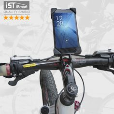 IST Bike Accessories Bicycle Phone Holder For iPhone 4 4S 5 5s 6 6s plus Samsung Mobile Bag Stand