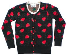 Le strawberry cardigan